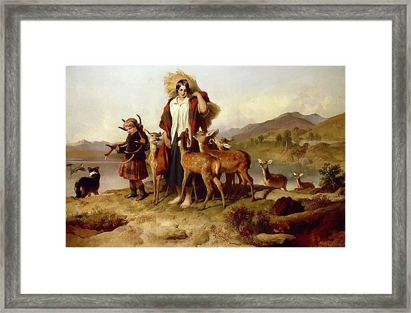 The Forester's Family Framed Print