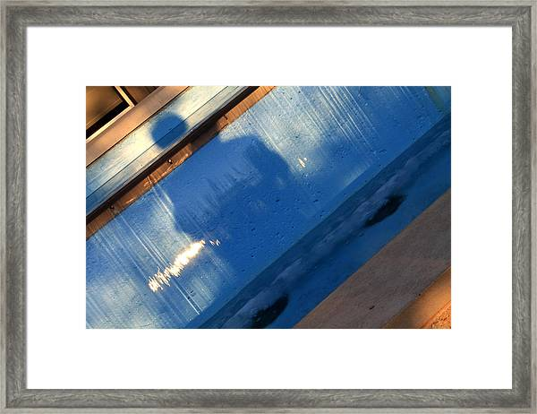 Framed Print featuring the photograph The Fountain by Break The Silhouette