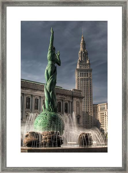 The Fountain Of Eternal Life Framed Print