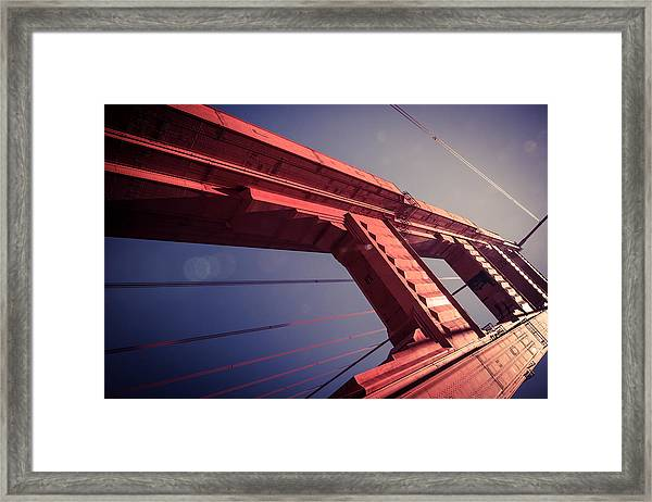 The Free Falling Framed Print