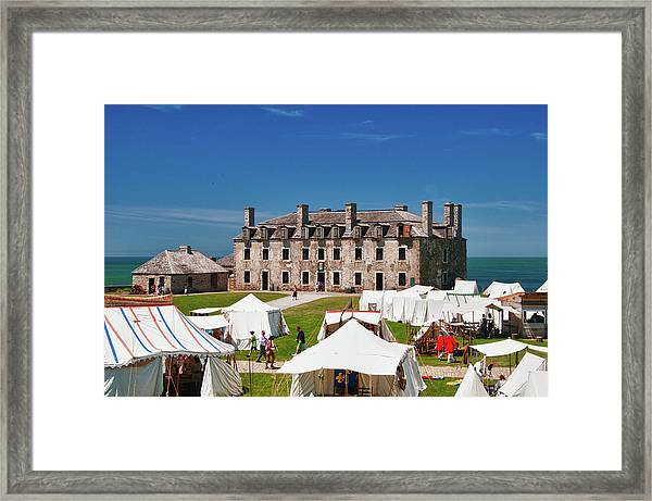 The French Castle 6709 Framed Print