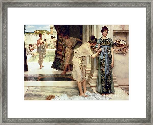 The Frigidarium Framed Print