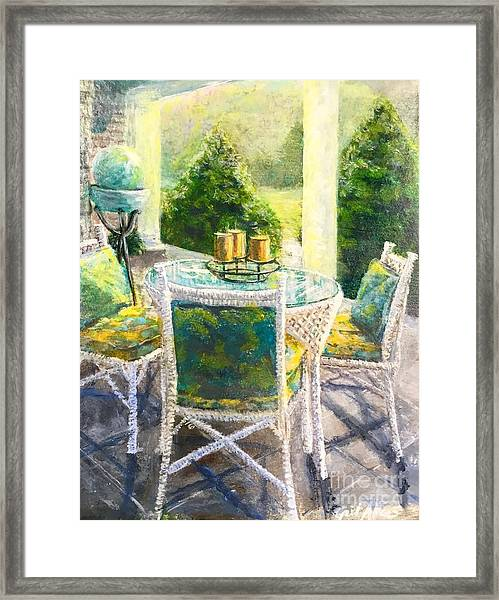 The Front Porch Framed Print