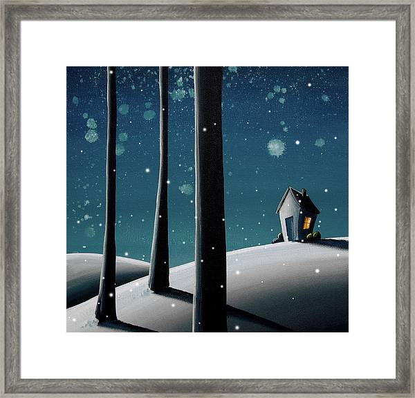 The Frost Framed Print