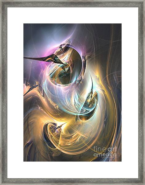 The Fulfillment Framed Print