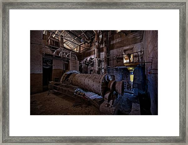 The Furnace And The Rocket 2  La Fornace E Il Razzo 2 Framed Print