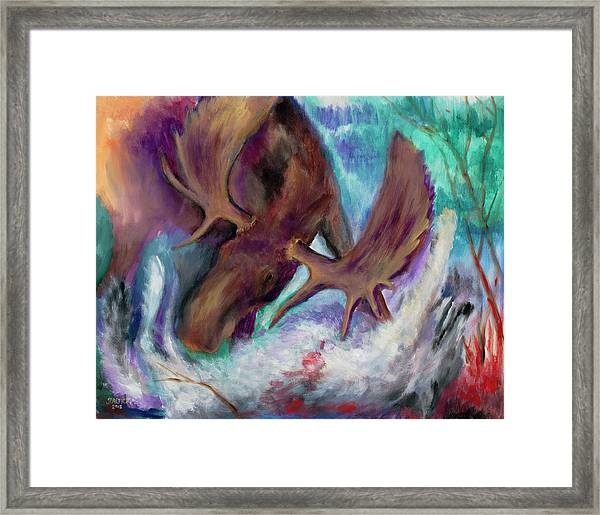The Fury Framed Print