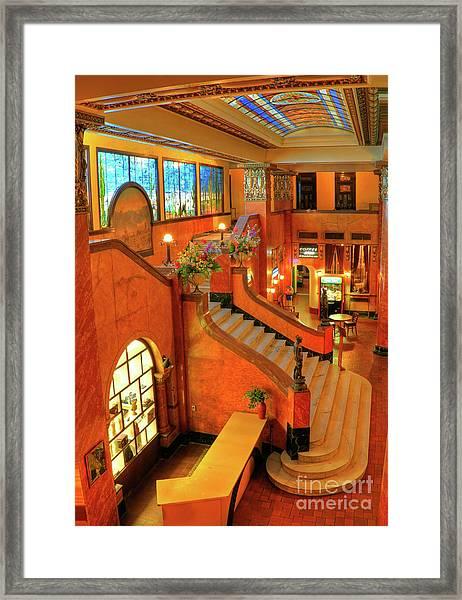 The Gadsden Hotel In Douglas Arizona Framed Print