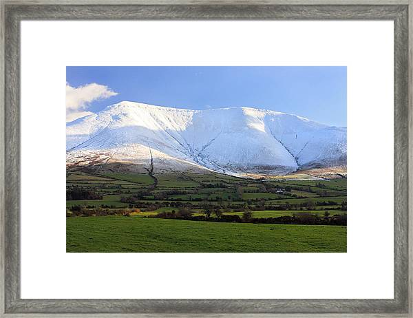 The Galtees  Ireland's Tallest Inland Mountains Framed Print by Pierre Leclerc Photography
