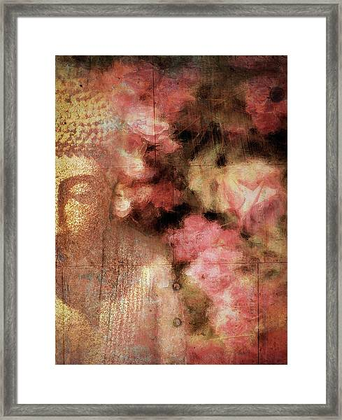 The Garden Buddha 1 Framed Print