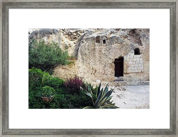 The Garden Tomb Framed Print