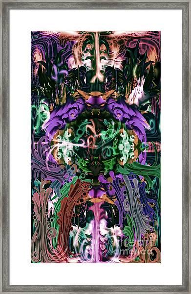 The Gate 2 Framed Print
