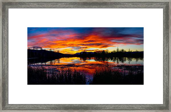 The Gates Of Heaven No. 2 Framed Print