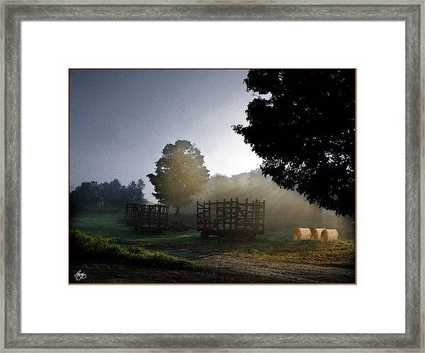 The Gathering Day Framed Print