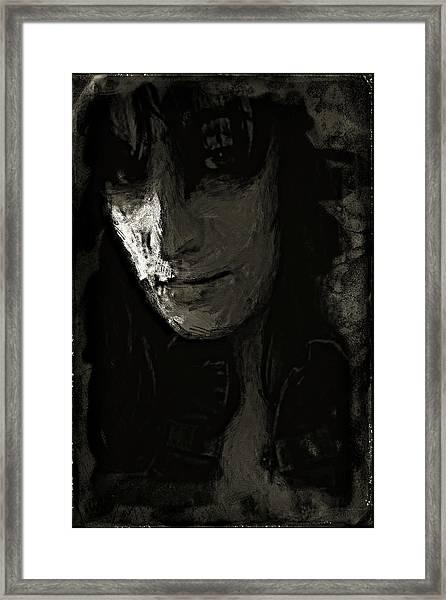 The Gaze Framed Print