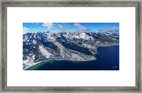 The Gem Of The Sierra - Limited Edition Framed Print