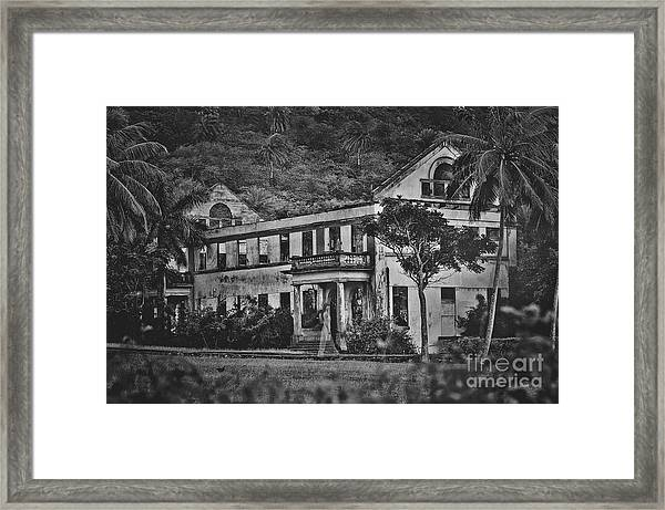 The Ghost Of Hawaii Framed Print