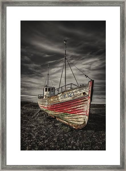 The Ghost Ship Framed Print