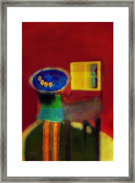 The Girl In The Mirror 2 Framed Print