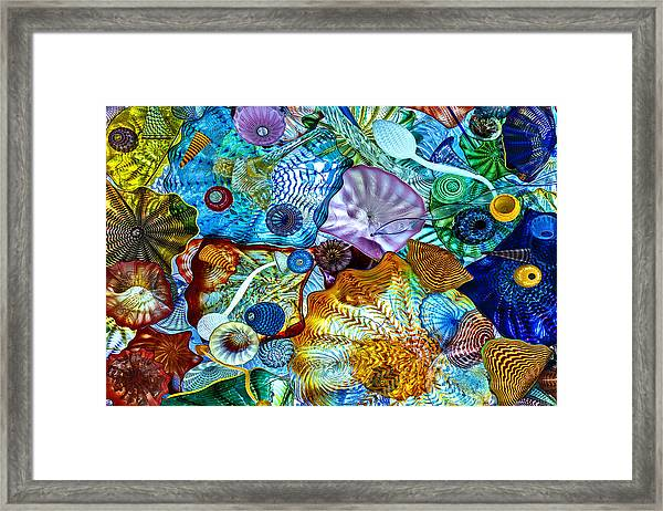 The Glass Ceiling Framed Print