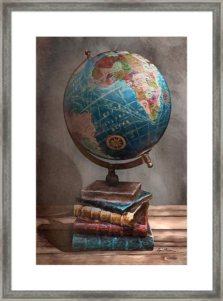 The Globe Framed Print
