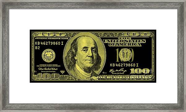 The Gold Standard Framed Print