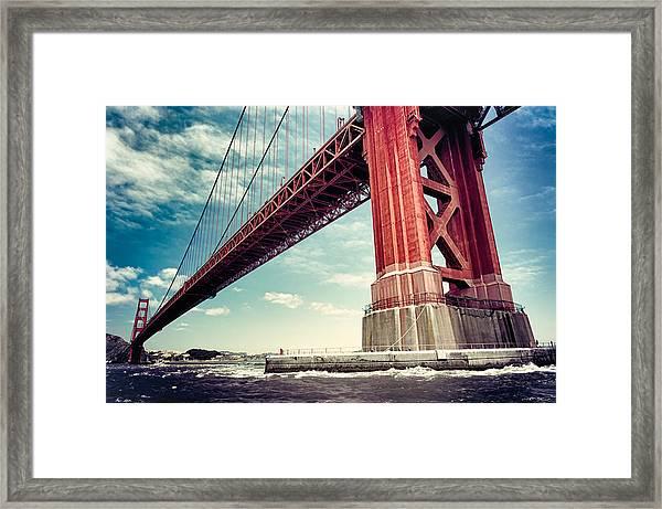 The Golden Gate Framed Print