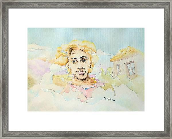 The Good Man Framed Print