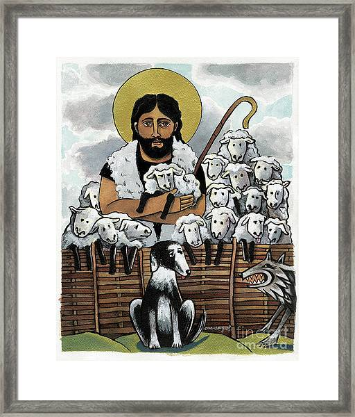 The Good Shepherd - Mmgoh Framed Print