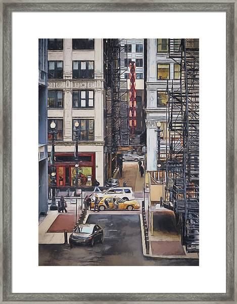 The Goodman From The Platform Framed Print