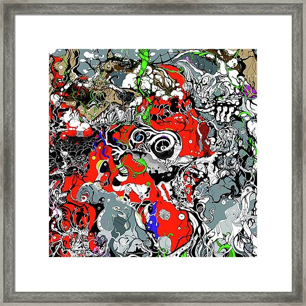 The Grapevine Wall Section 1 Framed Print