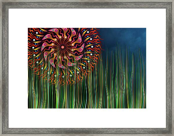 The Grass Is Always Greener Framed Print