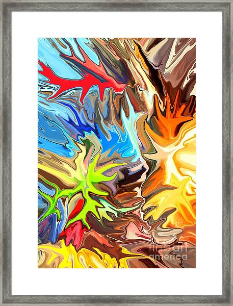 The Great Barrier Reef II Framed Print