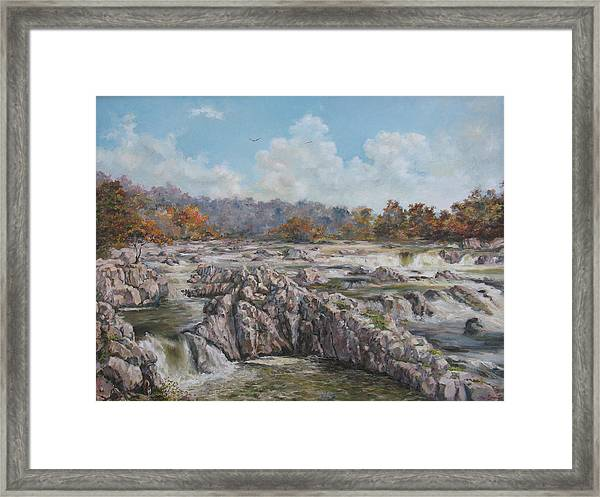 The Great Falls Framed Print