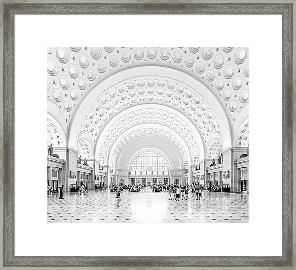 The Great Hall Framed Print