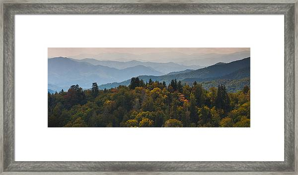 The Great Smokey Mountains Framed Print