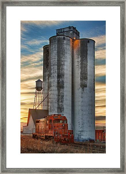 The Great Western Sugar Mill Longmont Colorado Framed Print