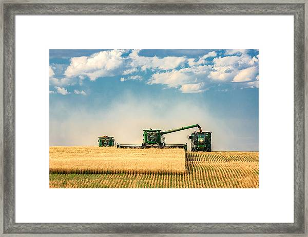 The Green Machines Framed Print