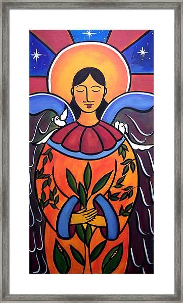 The Grieving Angel Framed Print