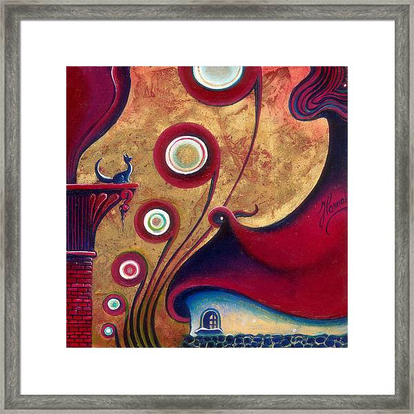 The Guardian Of Changes The Destiny Framed Print