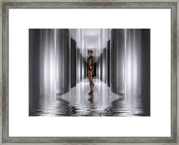 The Guide Framed Print