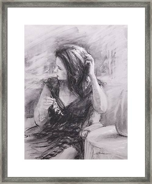 The Hairpin Framed Print