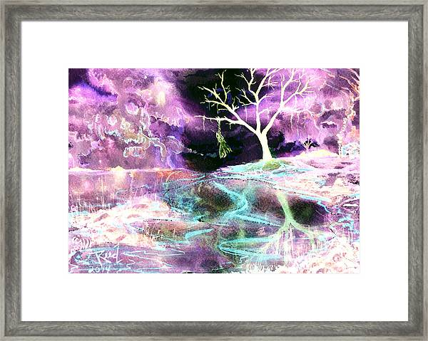 The Hanging Tree Inverted Framed Print