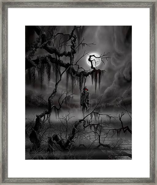 The Hangman Framed Print