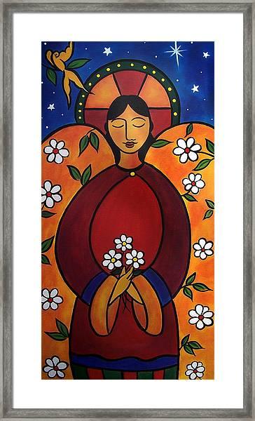 The Healing Angel Framed Print