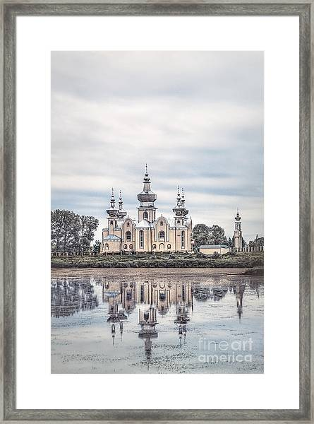 The Healing Source Framed Print