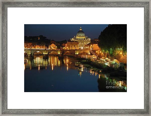 Eternal Sound Of Rome Framed Print