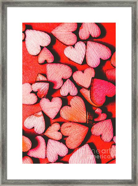 The Heart Of Decor Framed Print