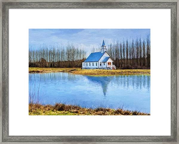 The Heart Of It All - Landscape Art Framed Print