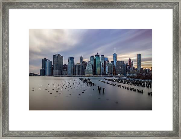 The Heart Of The City Framed Print
